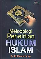 Metodologi Penelitian Hukum Islam