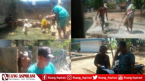 Rehabilitasi Sumber Toggung; Hasil Sumbangan Masyarakat Tanpa Campur Tangan Pemerintah
