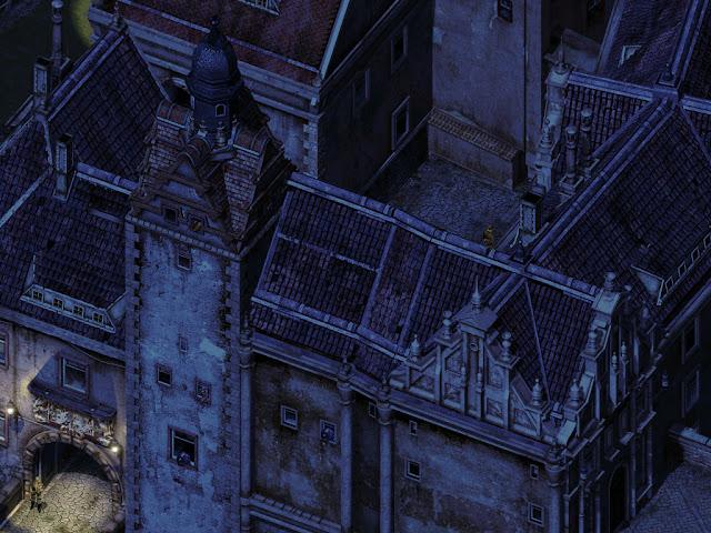 Commandos 2 - Destination Paris - Mission 'German High Security Fort Colditz Castle'