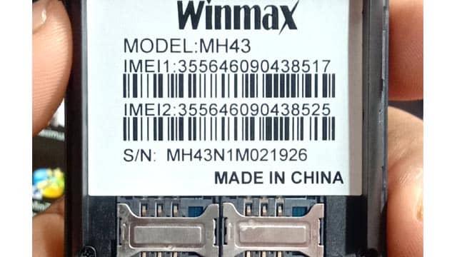 Winmax MH43 Flash File