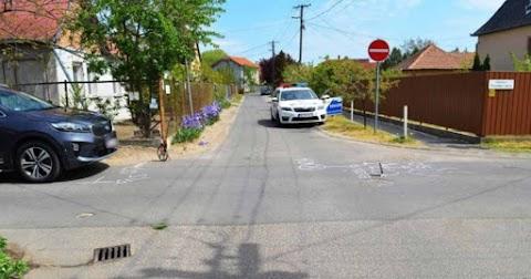 Kerékpáros ütközött autóval kedden Debrecenben