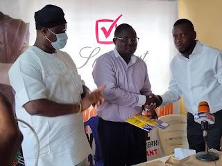 Dapo Abiodun Likeminds Distributes Writing Materials To 16 Wards In Abeokuta North LG