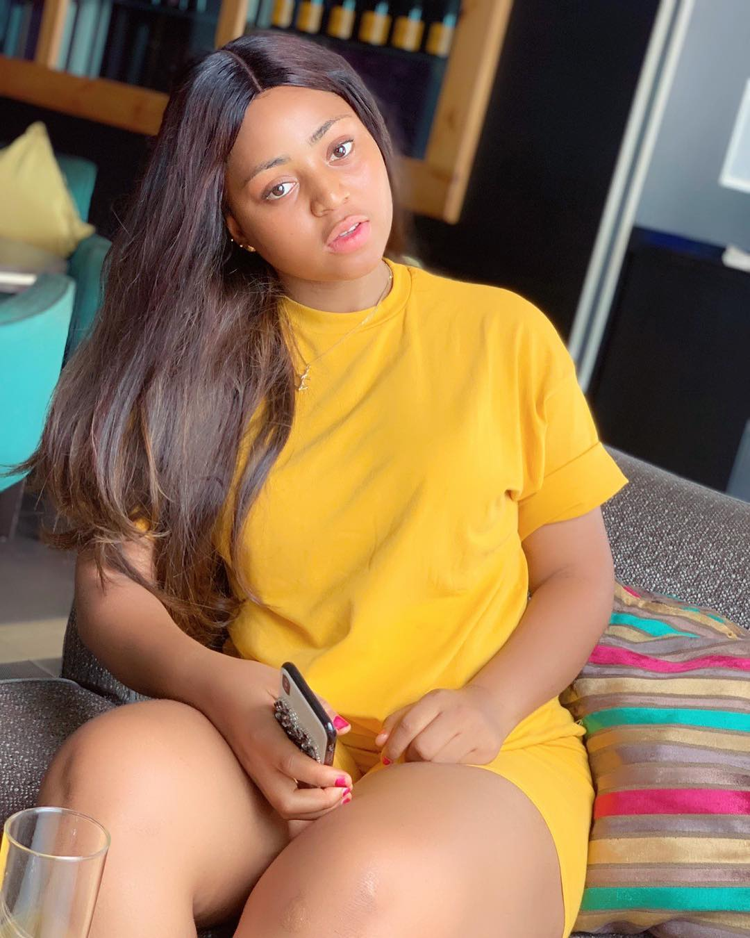 Nollywood Actress Regina Daniels Goes All Skin Out In Latest Photo Shoots