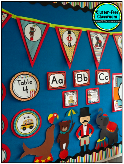 Circus Classroom Decoration Ideas : Circus carnival themed classroom ideas photos tips