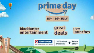 Amazon Prime Special Sale on 15 & 16 July for online shopping lovers