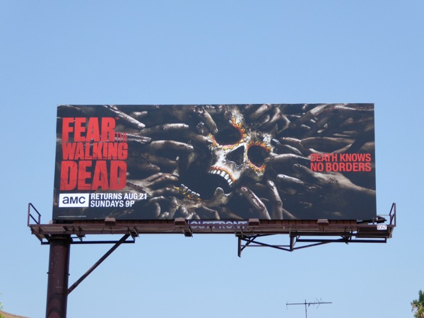 Fear the Walking Dead midseason 2 billboard