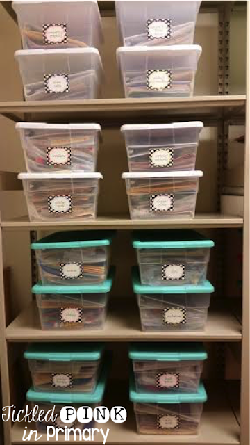 Back to School Bash - Container Organizer