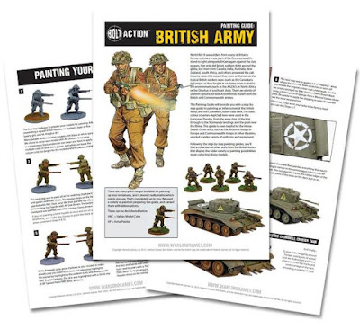 British painting guide - digital download