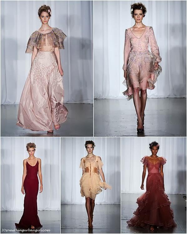 ZacPosen S/S2014 runway dresses