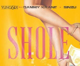 Yung6ix ft. Dammy Krane & Sinzu – Shole mp3