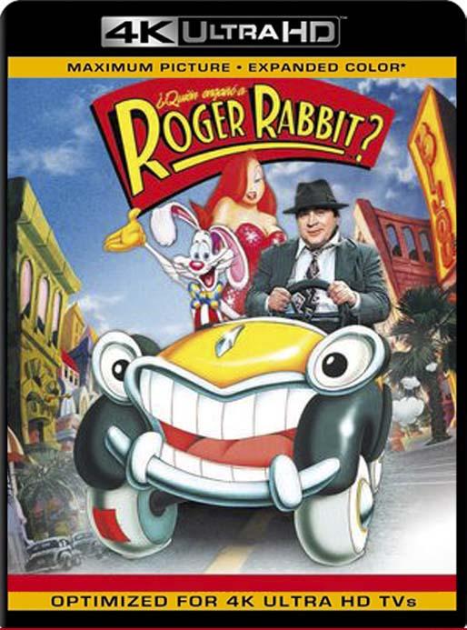 ¿Quién engañó a Roger Rabbit? (1988)  4K 2160p UHD [HDR] Latino [GoogleDrive]