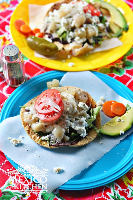 Tostadas de pata recipe cow's feet
