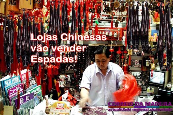 Lojas Chinesas vão vender Espadas