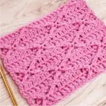Punto Diamante a Crochet