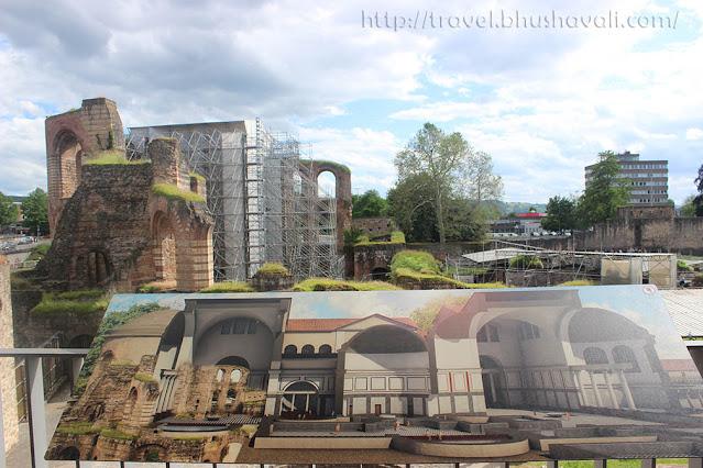 kaiserthermen imperial baths UNESCO Germany