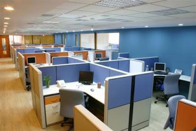 keuntungan tata ruang kantor tertutup adalah