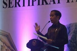 Presiden Jokowi Serahkan 6.000 Sertifikat Tanah Warga Riau