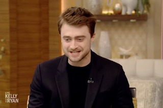 Updated: Daniel Radcliffe on Live with Kelly and Ryan