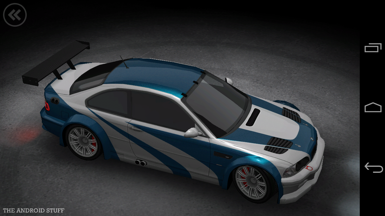 the android stuff bmw m3 gtr nfs most wanted 2012