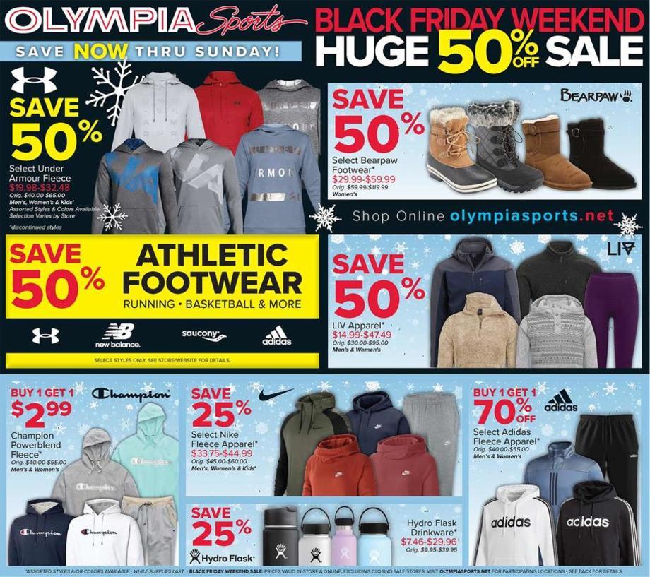 Olympia Sports Black Friday 2019