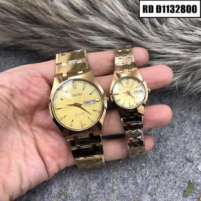 Đồng hồ cặp đôi Rado mặt tròn RD Đ1132800