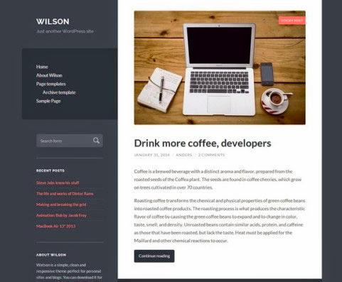 Wilson – Personal Blogging