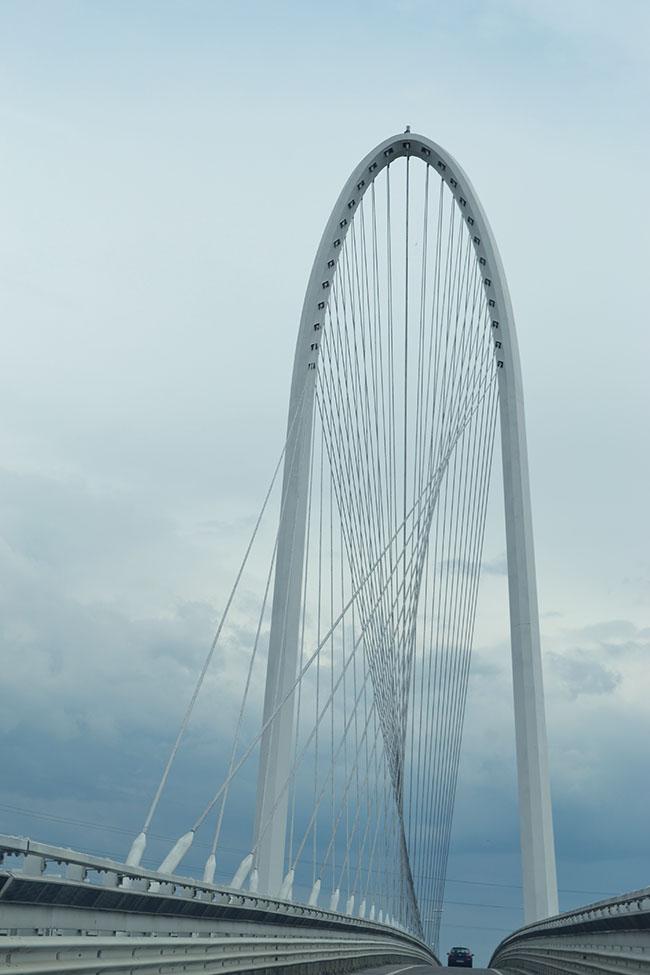 Il ponte centrale di Santiago Calatrava