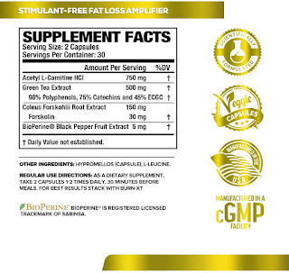 Non-Stimulant Fat Burner, weight loss supplement