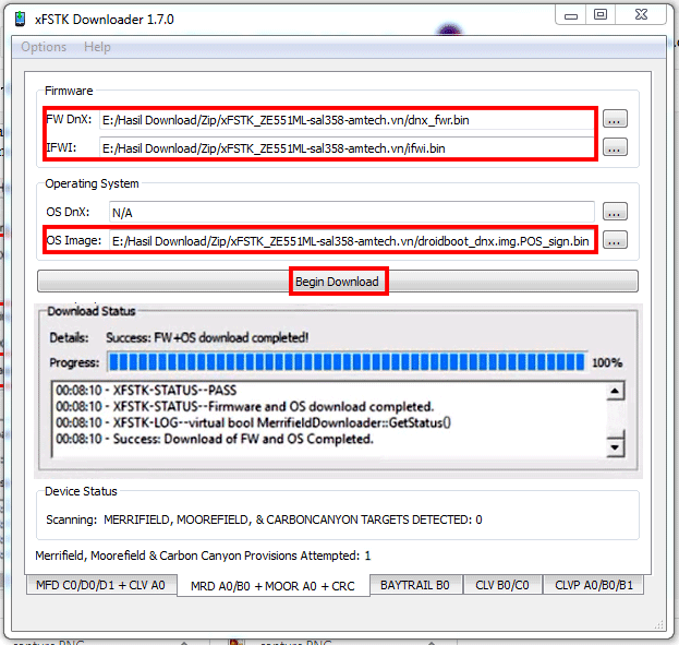 cara flash asus zenfone 2 ZE551ML atau asus zenfone 2 ZE550ML
