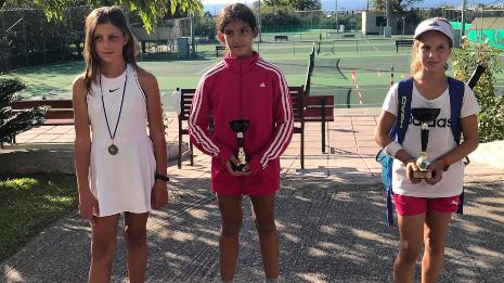 Χρυσό μετάλλιο για την Βασιλική Λιαγκριδώνη από το Σκαφιδάκι Αργολίδας στο πανελλαδικό πρωτάθλημα τένις