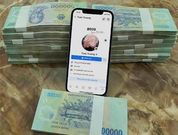 Ghép ảnh sống ảo khoe tiền với iphone 12 pro max