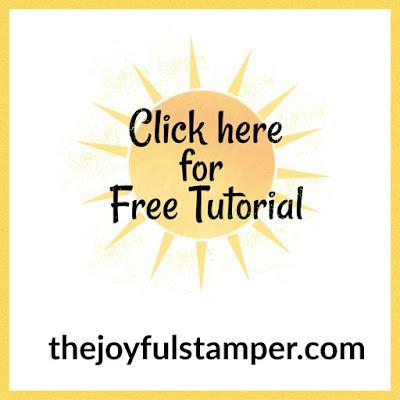 Free tutorials, how-tos, and instructions | Birthday Bonanza Designer Series Paper | Bonanza Buddies | Stampin' Up! | kid's birthday card | Nicole Steele The Joyful Stamper