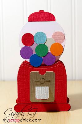 3d svg gumball box card