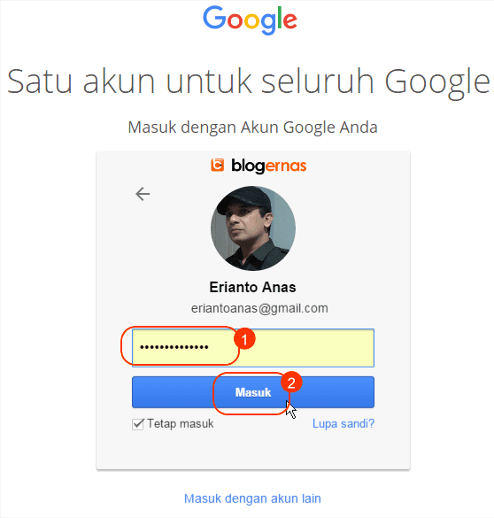 Panduan Cara Login ke Akun Google All in One