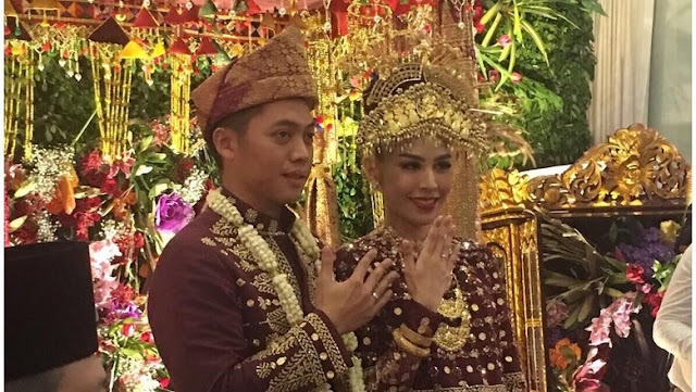 Pernikahan Rasyid Rajasa dan Adara Taista (Instagram @aniyudhoyono)
