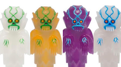Craig Gleason's The Ghoul Solar Glow Edition Vinyl Figures by Justin Ishmael