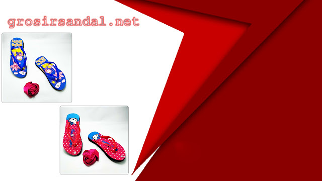 sandal anak tanggung | size 31-35 | motif helloktty | bahan spon berkualitas