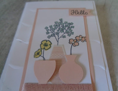 #lovemyjob, #stampinupuk, Craftyduckydoodah!, July 2018 Coffee & Cards Project, Stampin' Up! UK Independent  Demonstrator Susan Simpson, Supplies available 24/7 from my online store, Varied Vases,