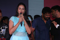 Pujita Ponnada in transparent sky blue dress at Darshakudu pre release ~  Exclusive Celebrities Galleries 040.JPG