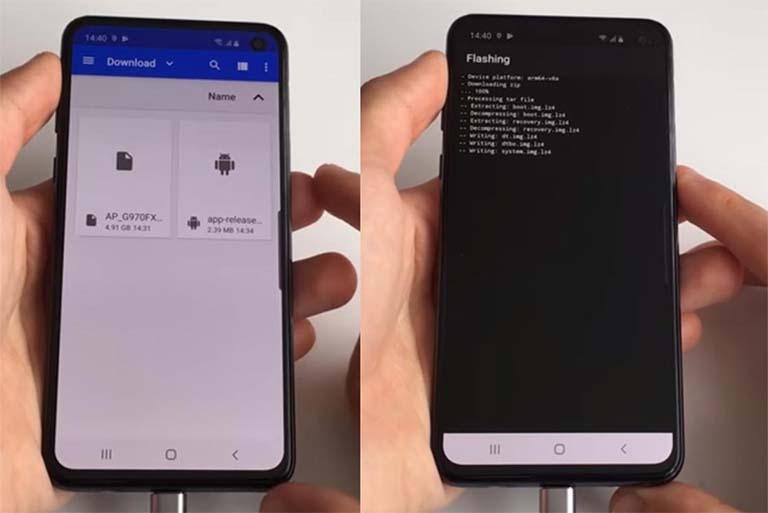 Cara Root HP Samsung Galaxy M20 SM-M205F/G/M/N Android 10
