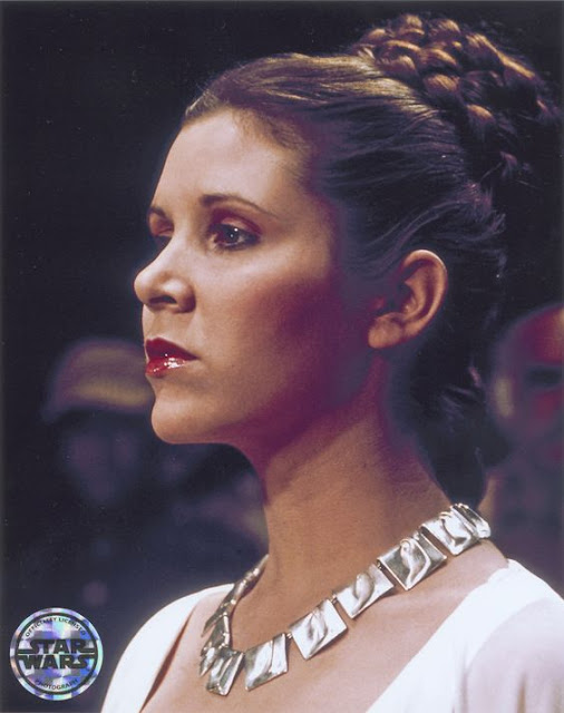 Princesa Leia  noiva penteado