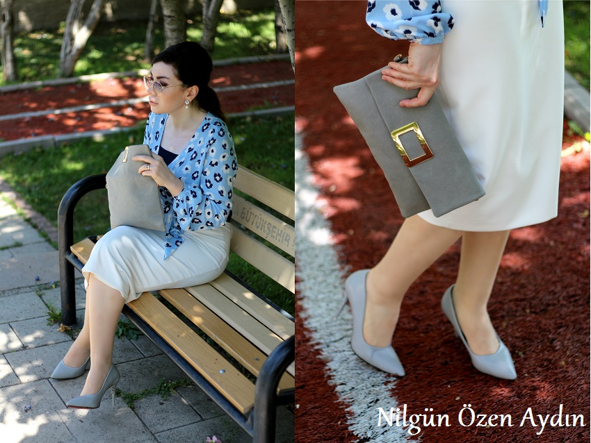 alışveriş-gri stiletto-gri clutch-fashion blogger-fashion blog-moda blogu