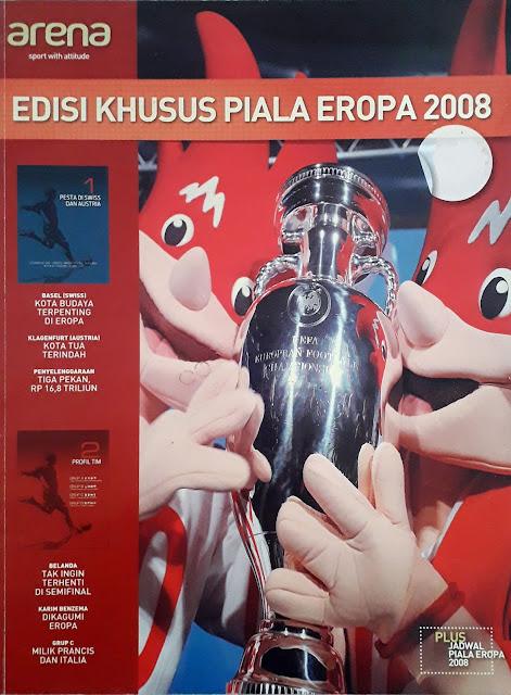 MAJALAH ARENA EDISI KHUSUS PIALA EROPA 2008