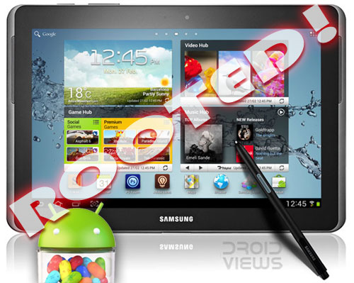 Tutorial Cara Hack Root Samsung Galaxy Note 10.1