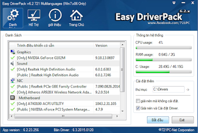 Free Download WanDrv 6.3.2015.0120 [Easy Driver Pack] for Windows