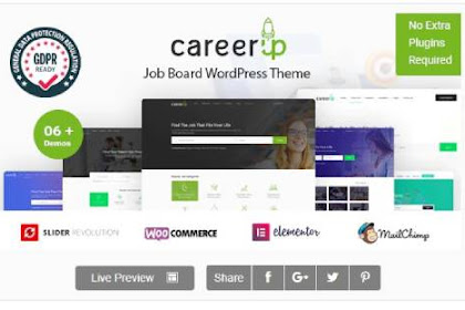 ⁠CareerUp v1.1.21 - Job Board WordPress Theme