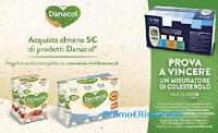 Con Danacol puoi vincere 300 Misuratori di Colesterolo Multicare In Starter Kit