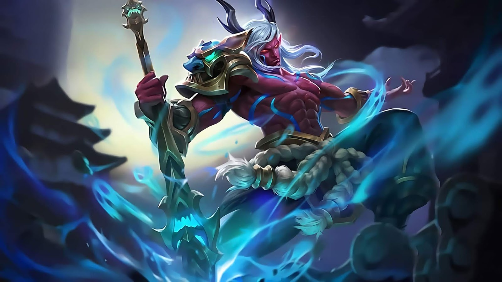 Wallpaper Moskov Yasha Skin Mobile Legends Full HD for PC