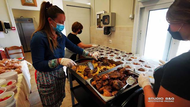 """Ναύπλιο: """"Γεύμα αγάπης"""" ανήμερα το Πάσχα για 160 απόρους από το συσσίτιο Ευαγγελίστριας"""