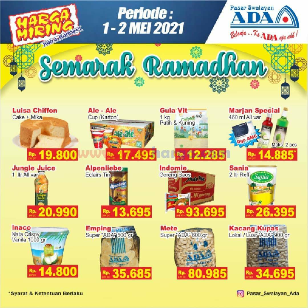 Katalog Promo ADA Swalayan Terbaru 1 - 2 Mei 2021 2